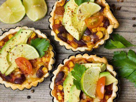 Chef Johanna, Vegan Black Bean Tarts