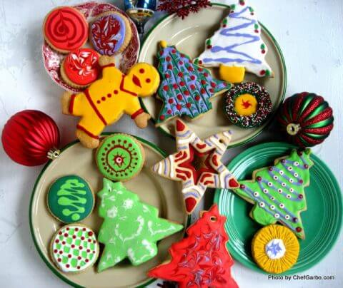 decorated-christmas-cookies-frosted-trees-snowmen-sugar-cookies