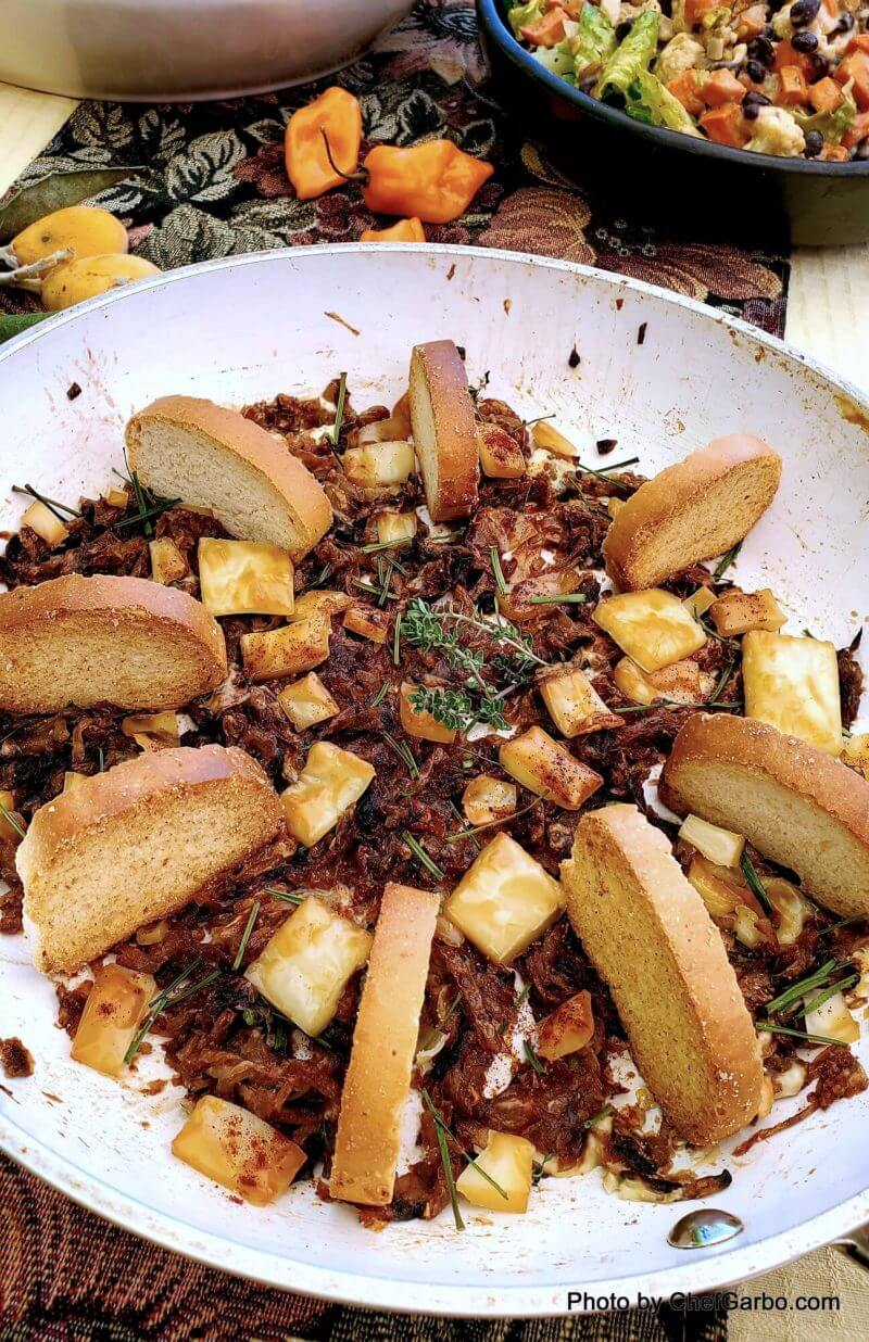 Fall Holiday Recipe Ideas - French Onion Soup Appetizer