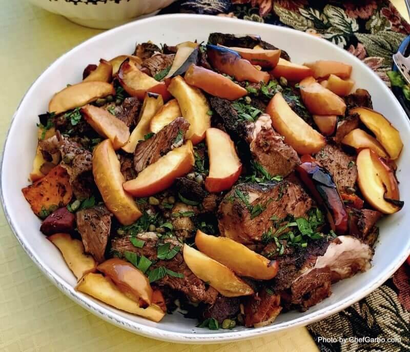 Fall Holiday Recipe Ideas - Roasted Leg of Lamb